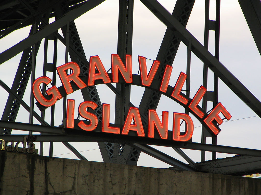Granville Island Vancouver photo by Flickr user Boris Mann